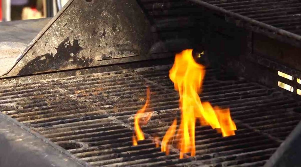 Preventing grease fires and extinguishing grease fires