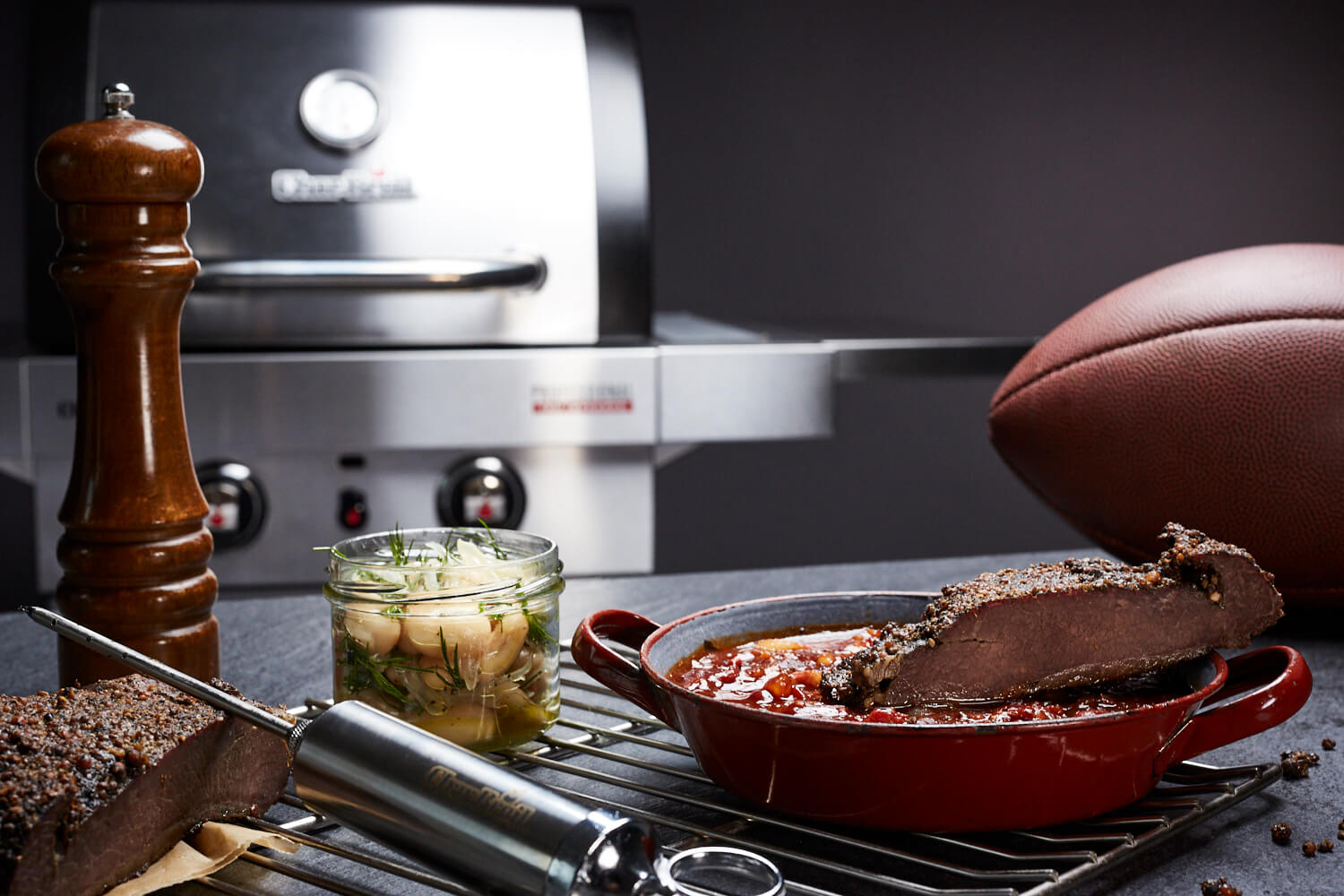 New Orleans Saints - Brisket and Beans